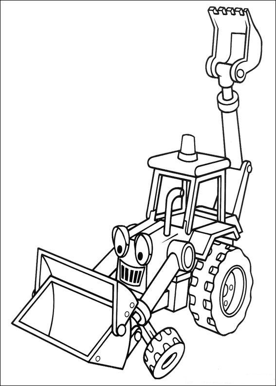 Kids-n-fun.com | 87 coloring pages of Bob the Builder