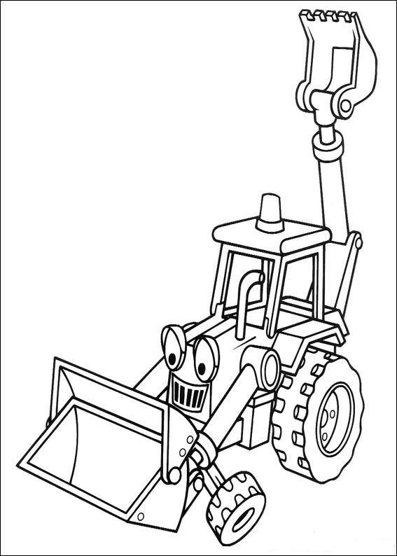 bob the bilder coloring pages   Kids-n-fun.com   87 coloring pages of Bob the Builder