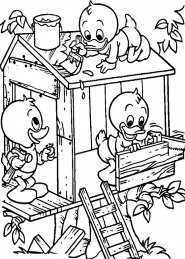 Kids-n-fun.com | 11 coloring pages of Treehouse