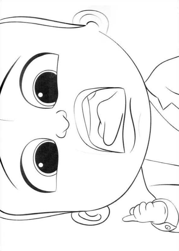 black boss baby coloring pages   Kids-n-fun.com   Coloring page Boss baby boss-baby-11
