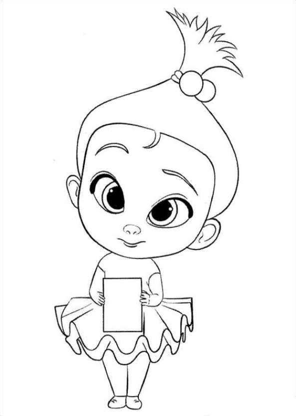 Kids-n-fun.com | 27 coloring pages of Boss baby