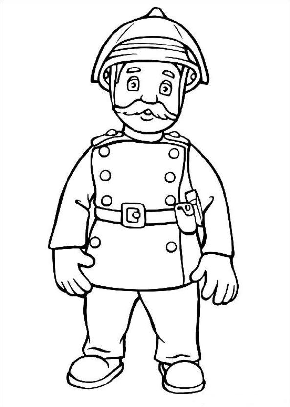 Kids-n-fun.com | 38 coloring pages of Fireman Sam