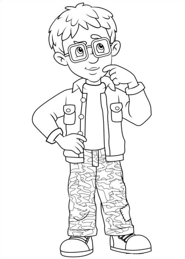 Kids N Fun Com 38 Coloring Pages Of Fireman Sam