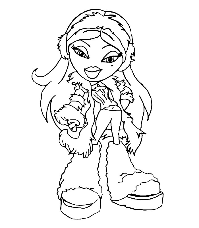 Kidsnfuncouk  51 coloring pages of Bratz