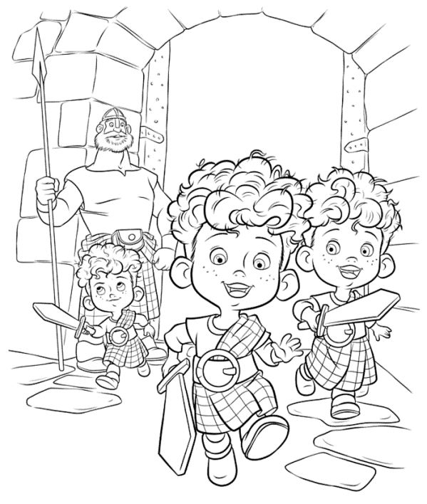 Kidsnfun 83 coloring pages