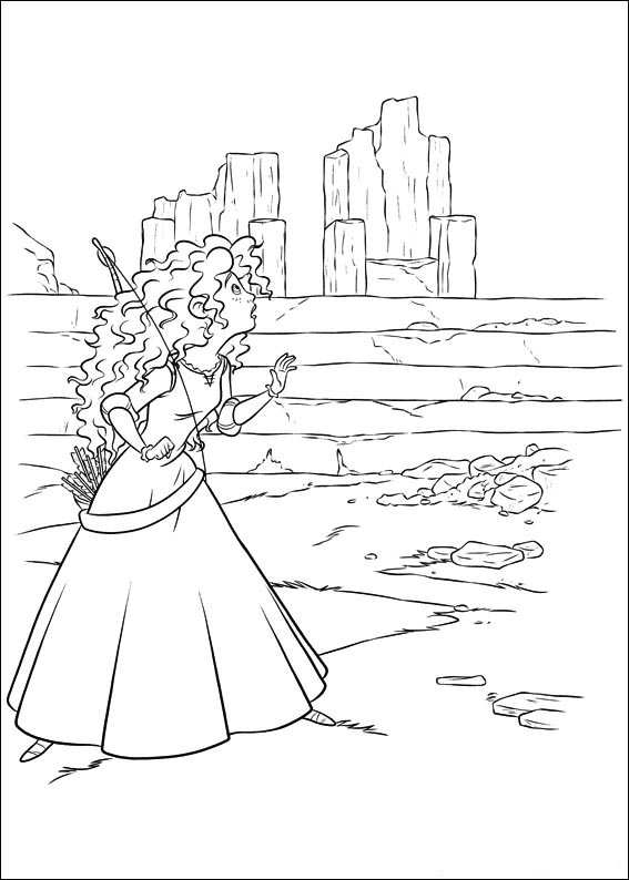 83 brave coloring pages printable