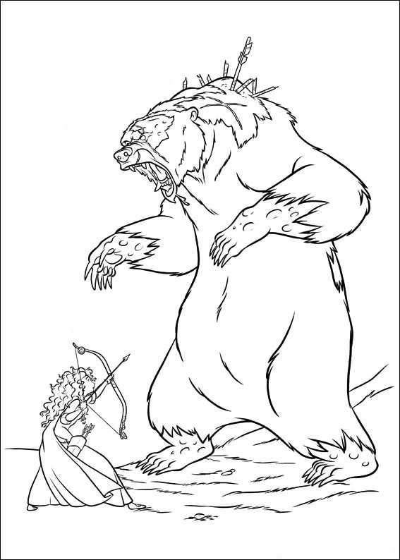 brave coloring pages games free - photo#40