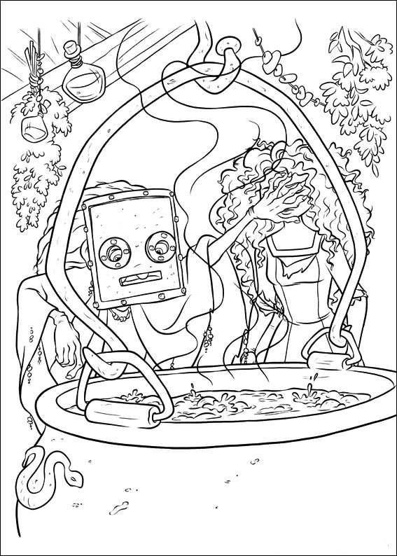Kids N Fun Com 83 Coloring Pages Of Brave