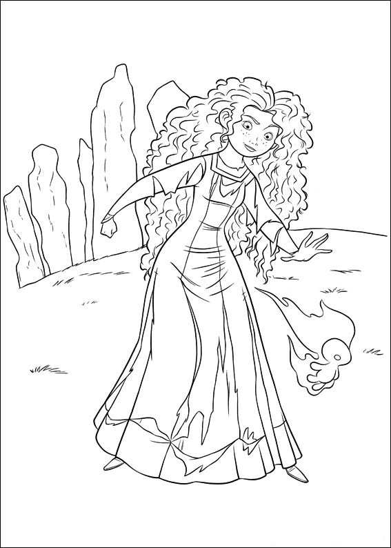 brave coloring pages games free - photo#15