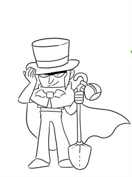 Kidsnfun 26 coloring pages of Brawl Stars
