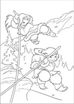 brother bear 2 coloring pages - photo#34