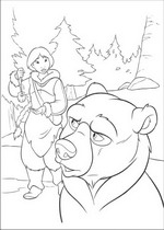 brother bear 2 coloring pages - photo#3