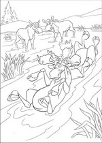 brother bear 2 coloring pages - photo#33