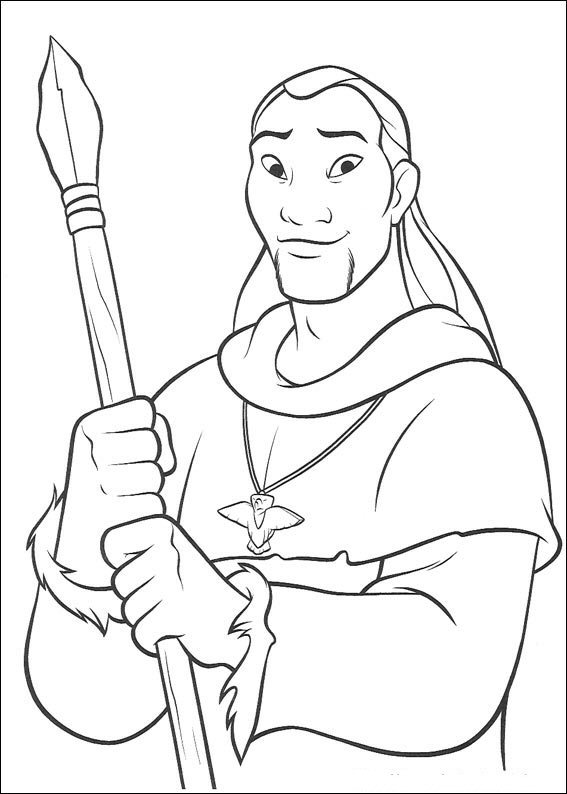 brother bear 2 coloring pages - photo#36