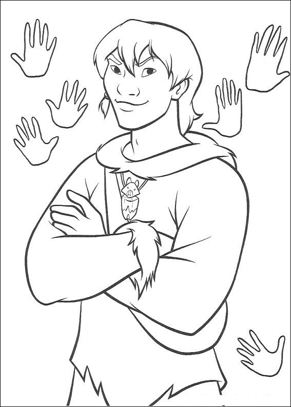 52 brother bear coloring pages