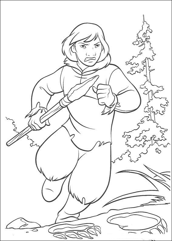 brother bear 2 40 coloring page pages