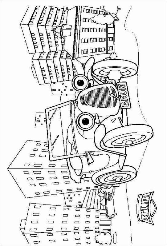 coloring pages of fun thingsw   Kids-n-fun.com   4 coloring pages of Brum