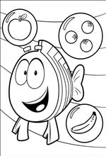 coloring page Bubble Guppies