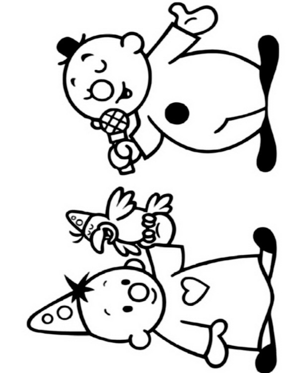 n 21 coloring pages of bumba