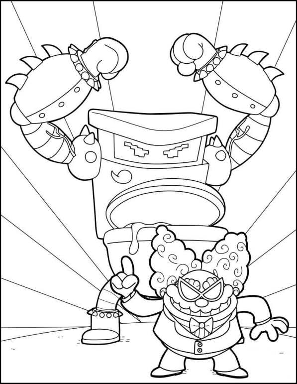 Kidsnfun 5 coloring pages