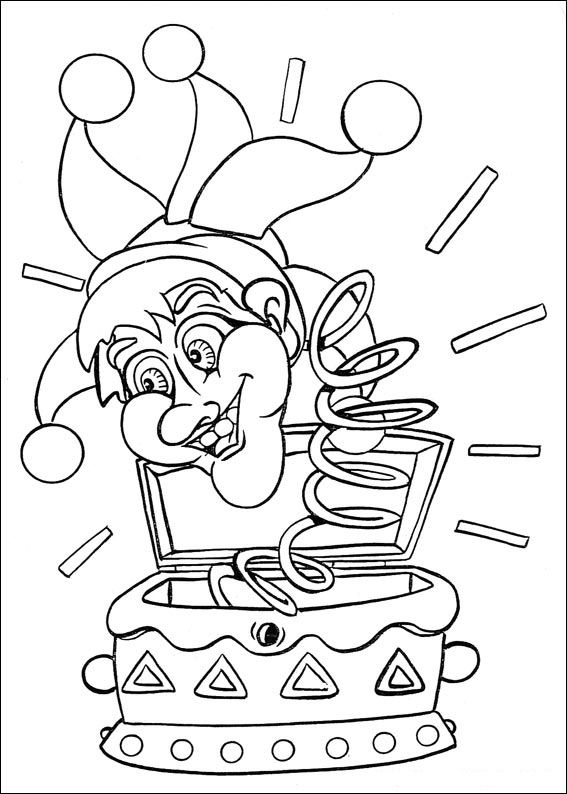 Kids-n-fun.com   36 coloring pages of Carnival