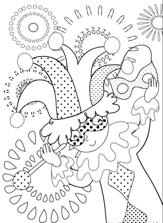 Kids-n-fun.com | 36 coloring pages of Carnival