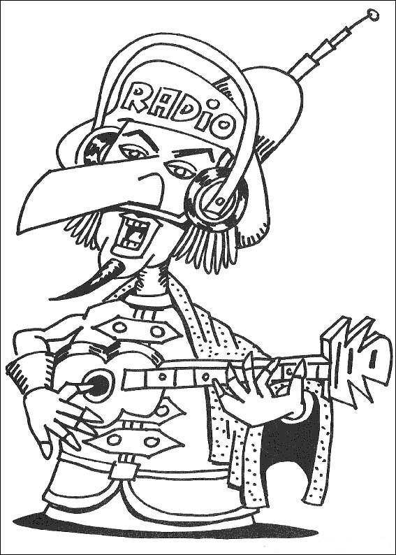 carnival coloring pages for kids - photo#39