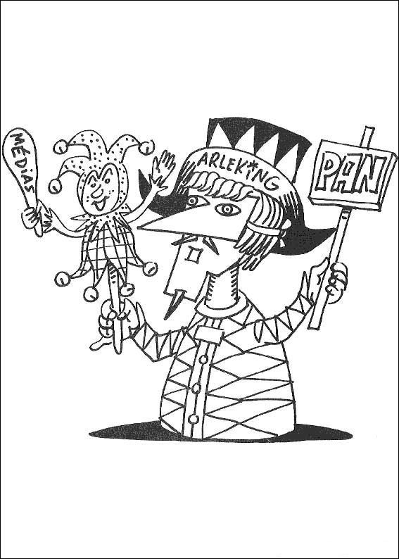 carnival coloring pages for kids - photo#40