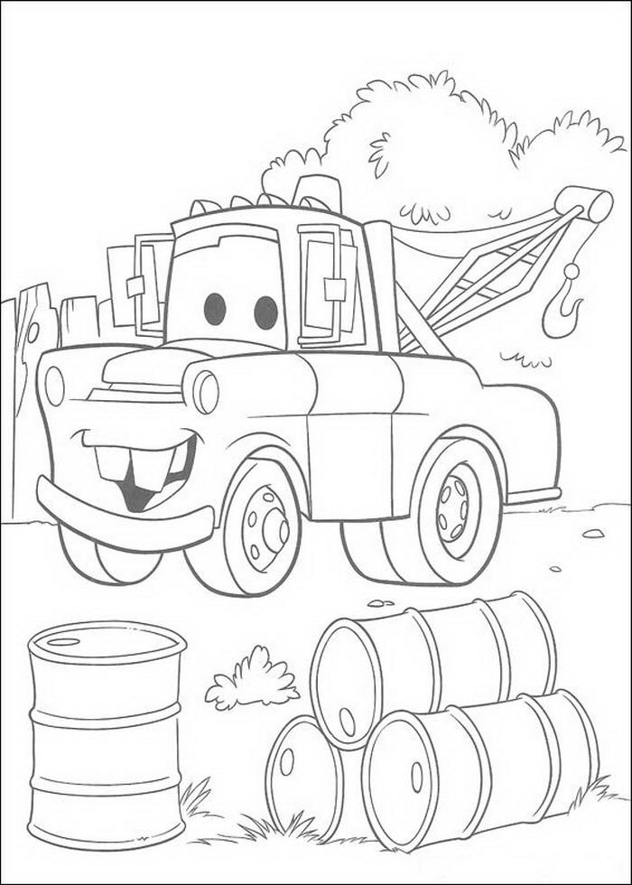 Coloring Pages Kids N Fun : Kids n fun coloring page cars pixar