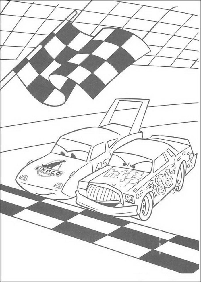 Kids-n-fun.com | 84 coloring pages of Cars (Pixar)
