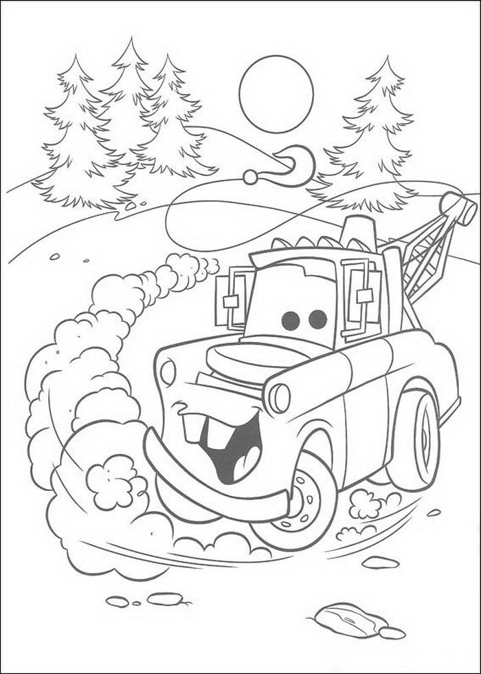 Kids-n-fun.co.uk | 84 coloring pages of Cars (Pixar)