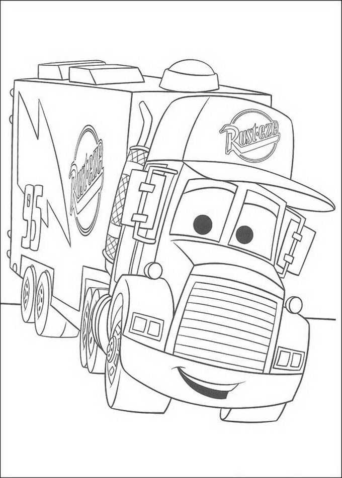 Free Lightning Mcqueen Coloring Pages To Print Picture