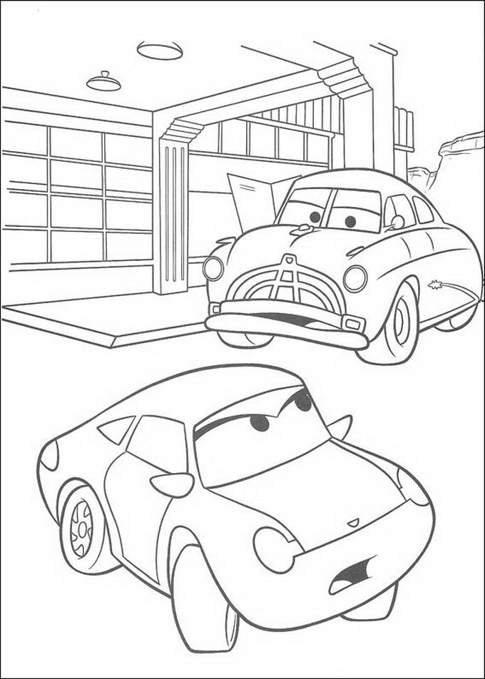Kids-n-fun.com | Coloring page Cars (Pixar) Cars (Pixar)