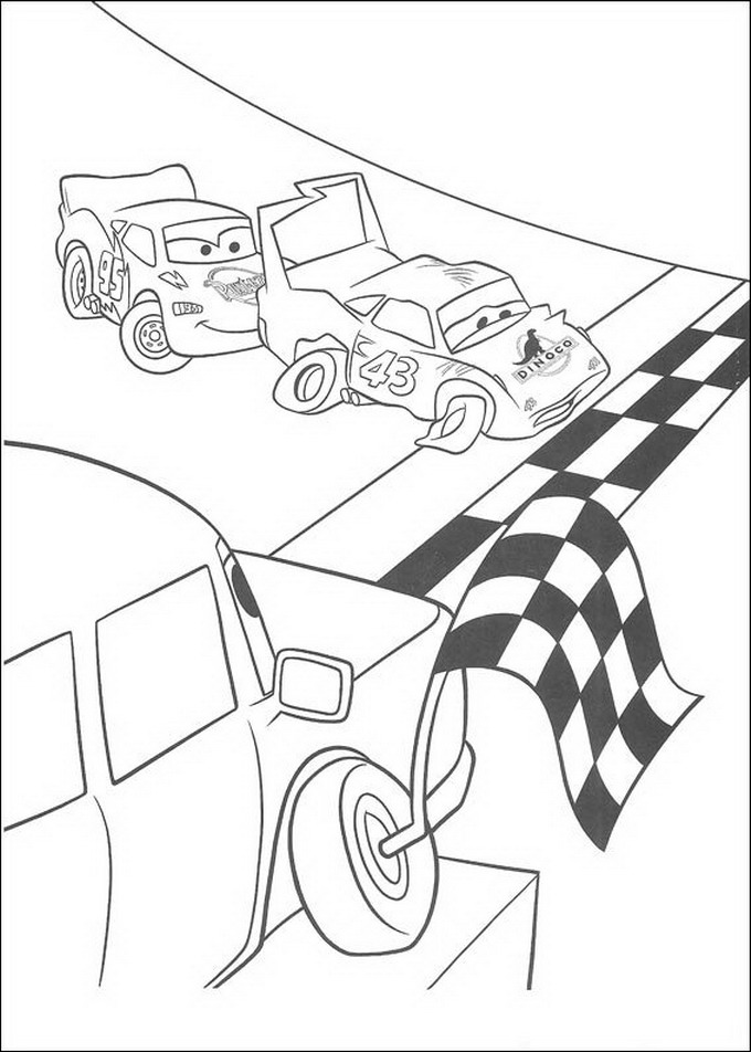Kids-n-fun.com | 84 coloring pages of Cars (Pixar)