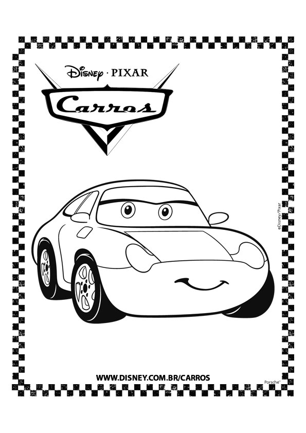 Pixar Cars Logo Coloring Pages Coloring Coloring Pages