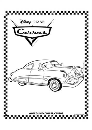 Kids N Fun Com 84 Coloring Pages Of Cars Pixar
