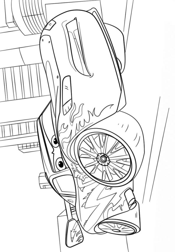 Kidsnfuncom  11 coloring pages of Cars 3