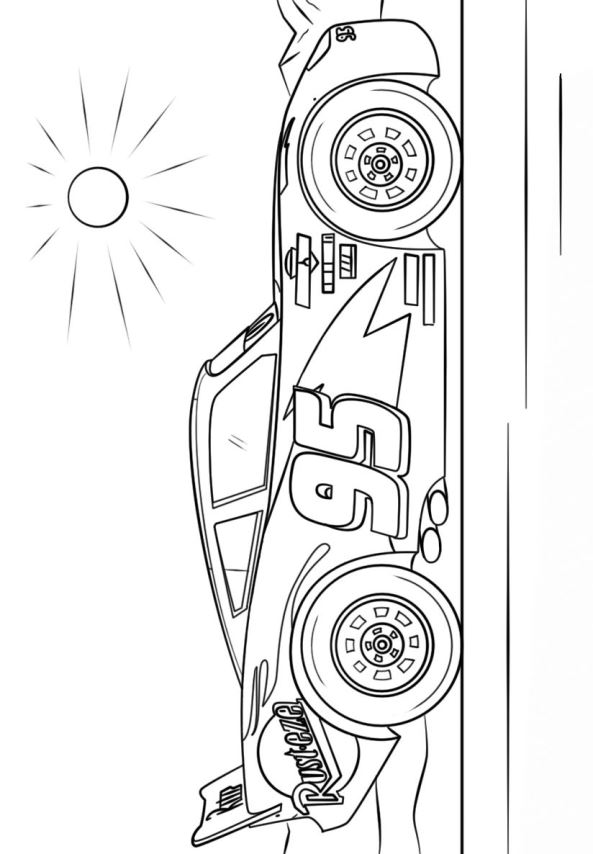 Kids n funcom 11 coloring pages of Cars 3