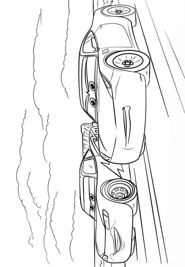 Kleurplaat Cars 3 Storm Kids N Fun Com 11 Coloring Pages Of Cars 3