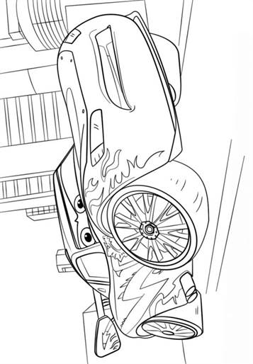Kids N Fun Com 11 Coloring Pages Of Cars 3