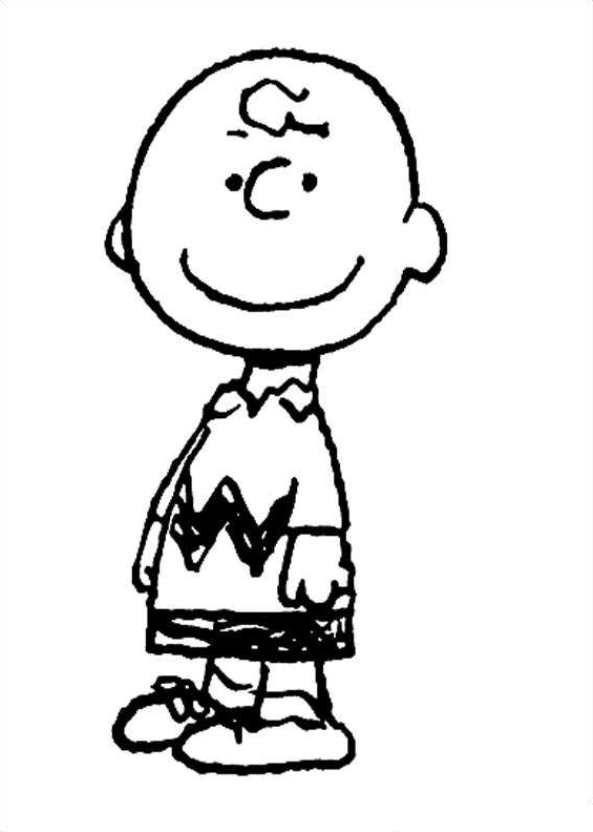 Kids-n-fun.com | 23 coloring pages of Charlie Brown