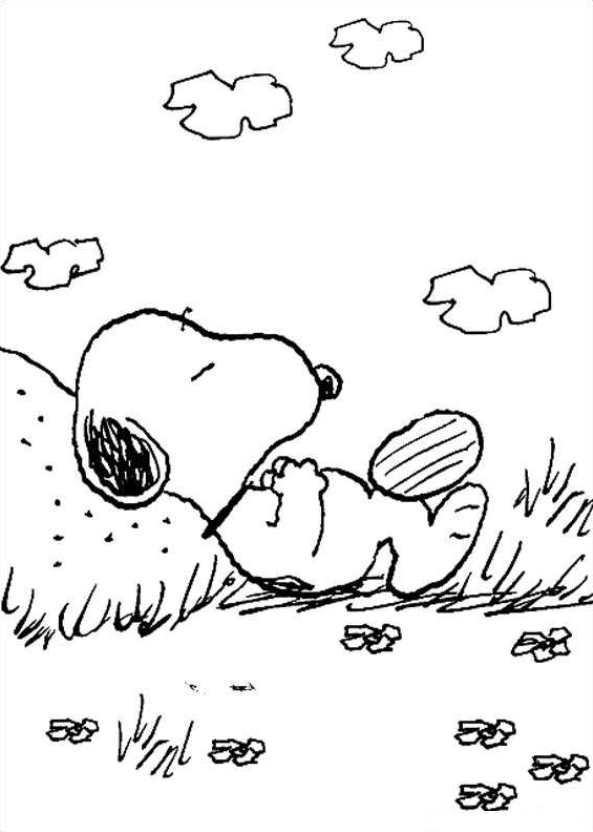 Charlie Brown Valentine Coloring Pages | Snoopy coloring pages ... | 832x593
