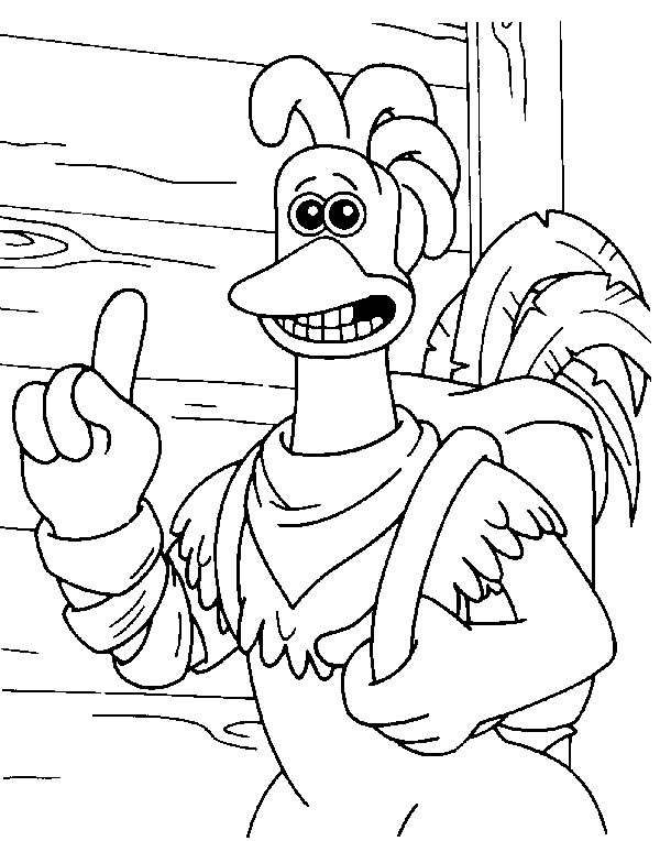 Kids n funcouk 46 coloring pages of Chicken Run
