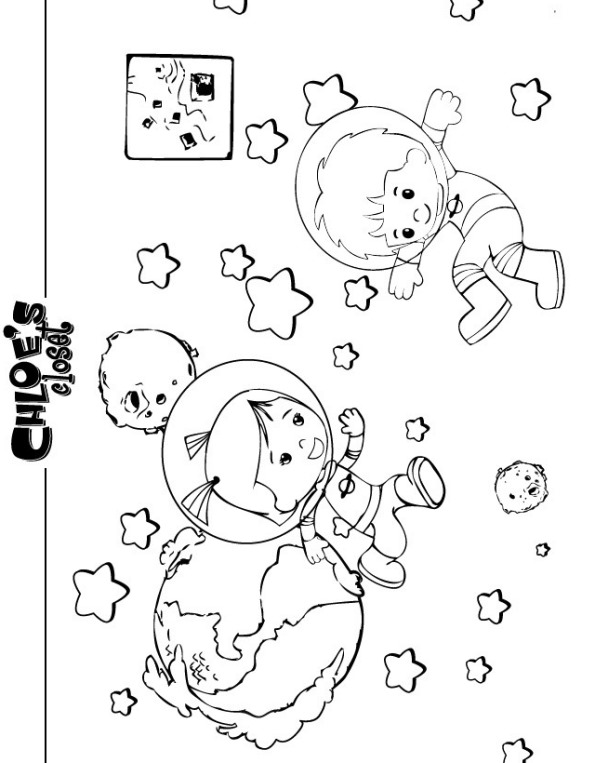 kids n fun com 26 coloring pages of chloes closet
