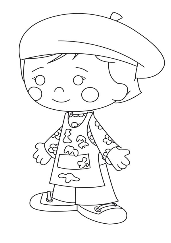 Kids-n-fun.com | 26 coloring pages of Chloes Closet