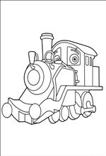 Kids n fun 24 coloring pages of chuggington for Disney chuggington coloring pages