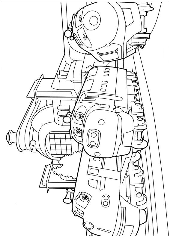Kids-n-fun.co.uk | 24 coloring pages of Chuggington