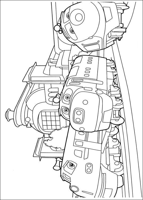 24 chuggington coloring pages