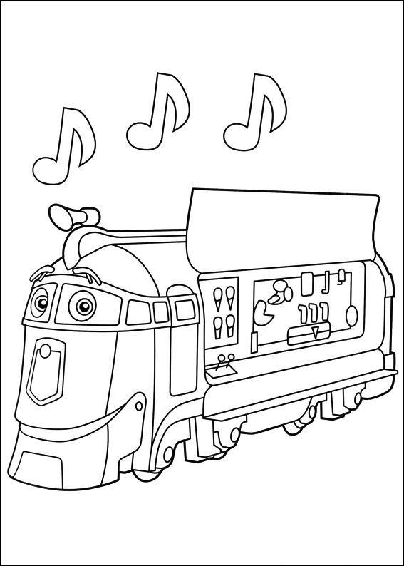 Kids n funcom 24 coloring pages of Chuggington