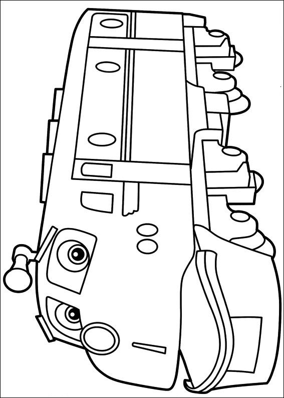 Kids n funcom 24 coloring pages of Chuggington